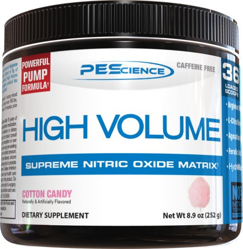 PEScience High Volume - 18 Servings Cotton Candy