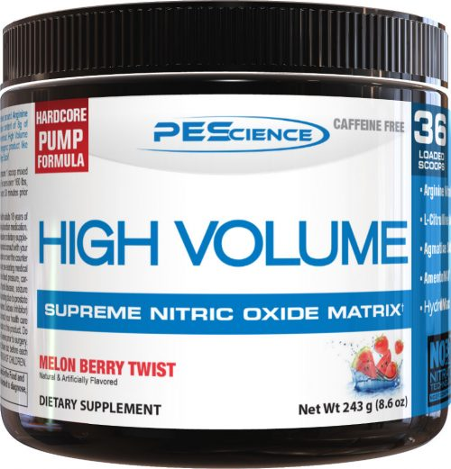 PEScience High Volume - 18 Servings Melon Berry Twist