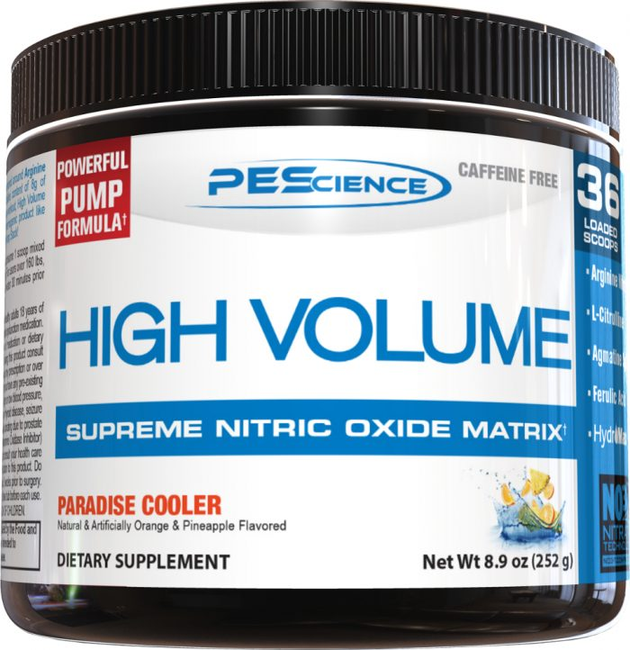 PEScience High Volume - 18 Servings Paradise Cooler