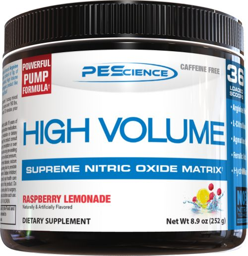PEScience High Volume - 18 Servings Raspberry Lemonade