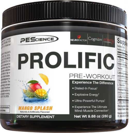 PEScience Prolific - 20 Servings Mango Splash
