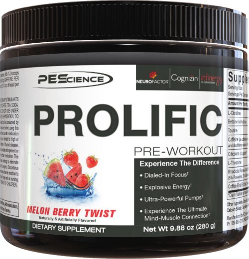 PEScience Prolific - 20 Servings Melon Berry Twist