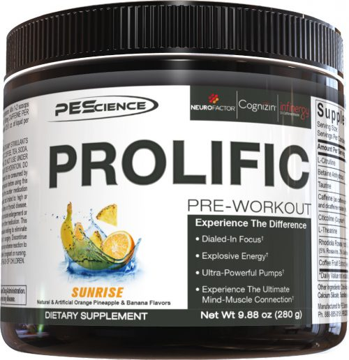 PEScience Prolific - 20 Servings Sunrise