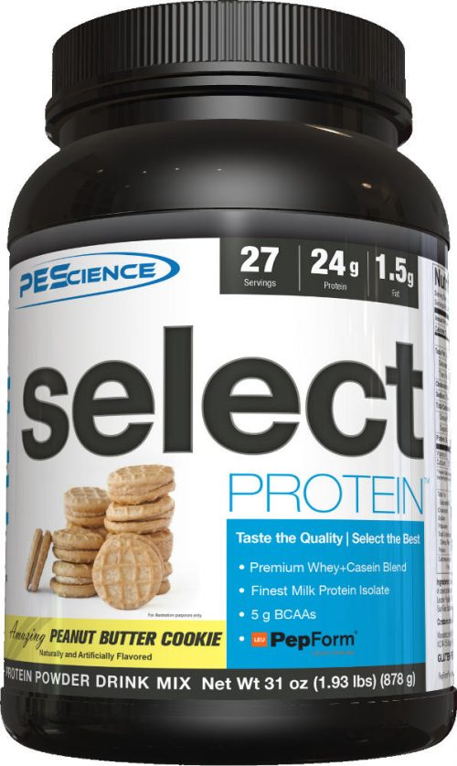 PEScience Select Protein - 27 Servings Peanut Butter Cookie