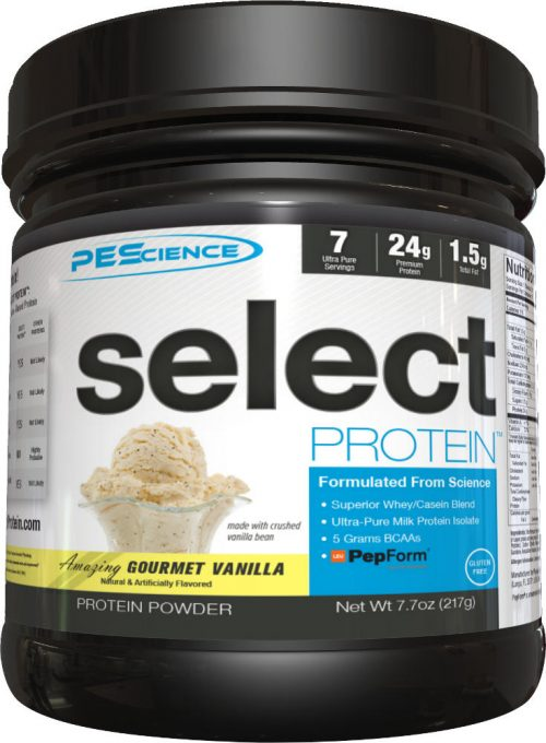 PEScience Select Protein - 7 Servings Gourmet Vanilla