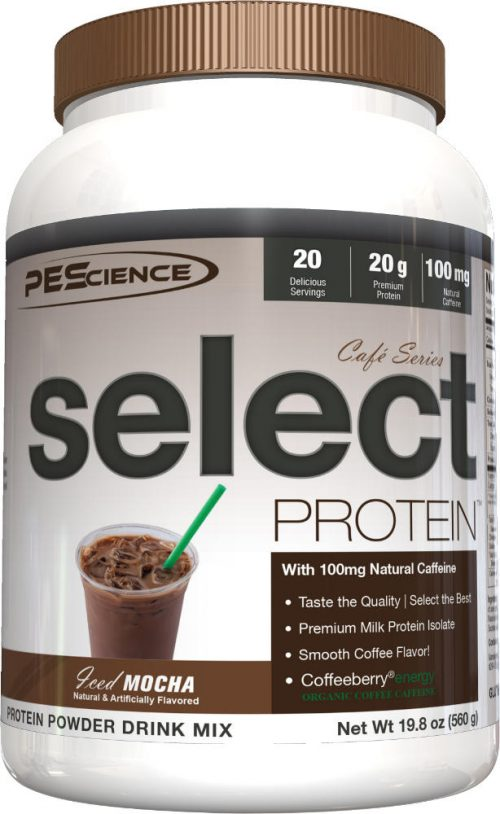 PEScience Select Protein Cafe Series - 20 Servings Iced Mocha