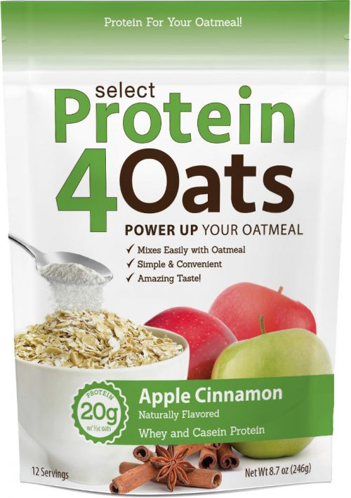 PEScience Select Protein4Oats - 12 Servings Apple Cinnamon