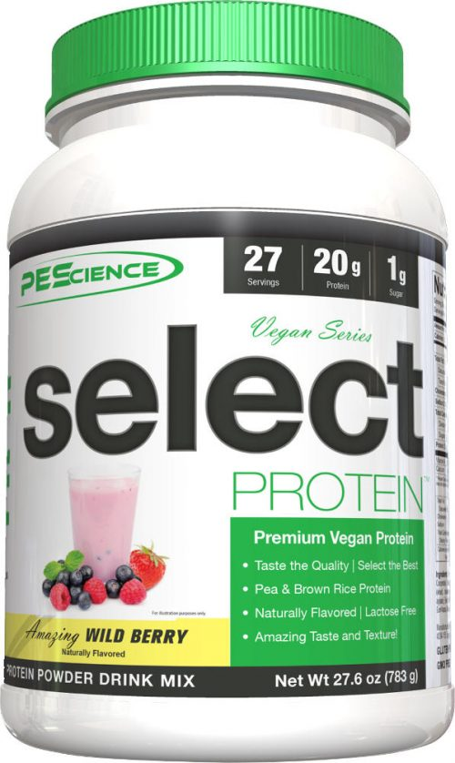 PEScience Select Vegan Protein - 27 Servings Wild Berry