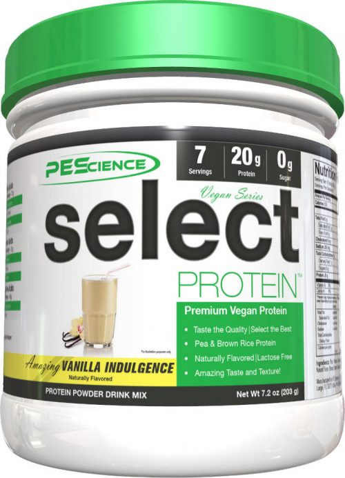PEScience Select Vegan Protein - 7 Servings Vanilla Indulgence