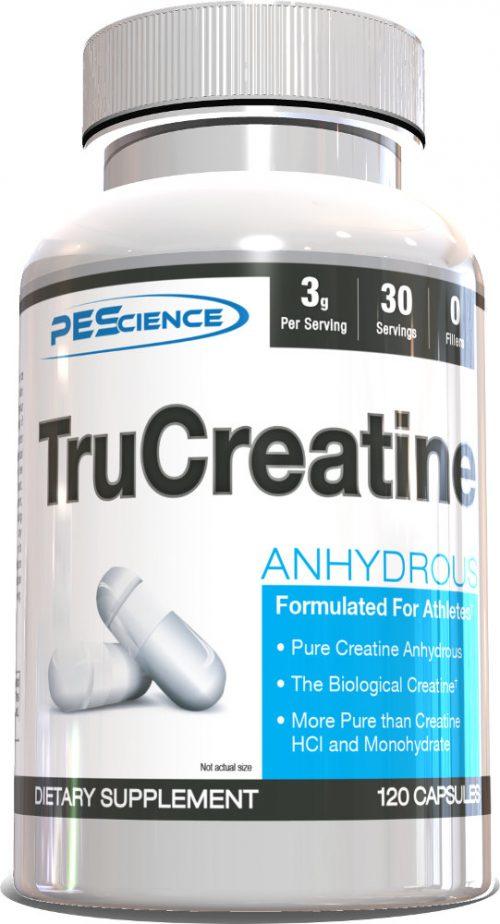 PEScience TruCreatine - 120 Capsules