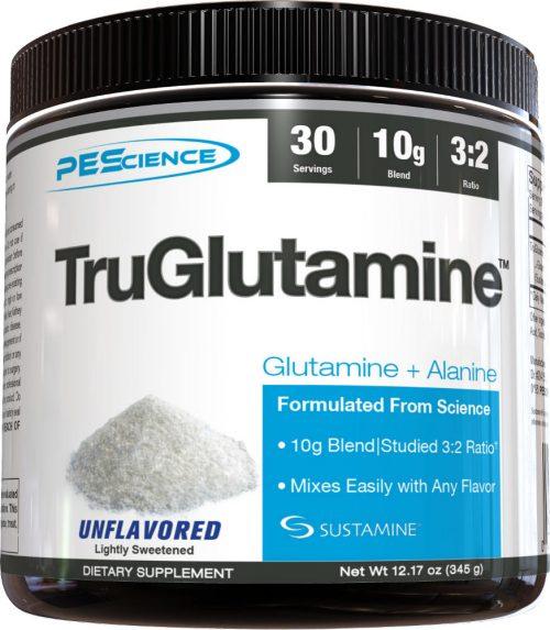 PEScience TruGlutamine - 30 Servings Unflavored