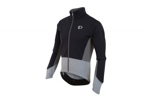 Pearl Izumi ELITE Pursuit Softshell Jacket - Men's - black/monument grey, medium