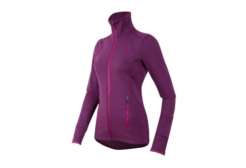 Pearl Izumi Escape Thermal Full-Zip Run Top - Women's - purple wine, medium