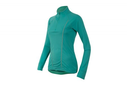 Pearl Izumi Pursuit Long Sleeve - Women's - viridian green/aqua mint, small