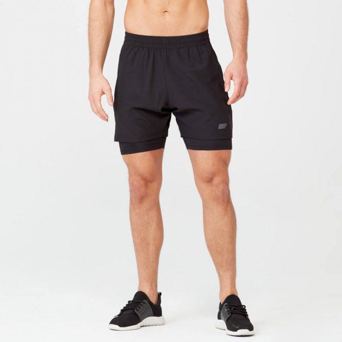 Power Shorts - Black - M