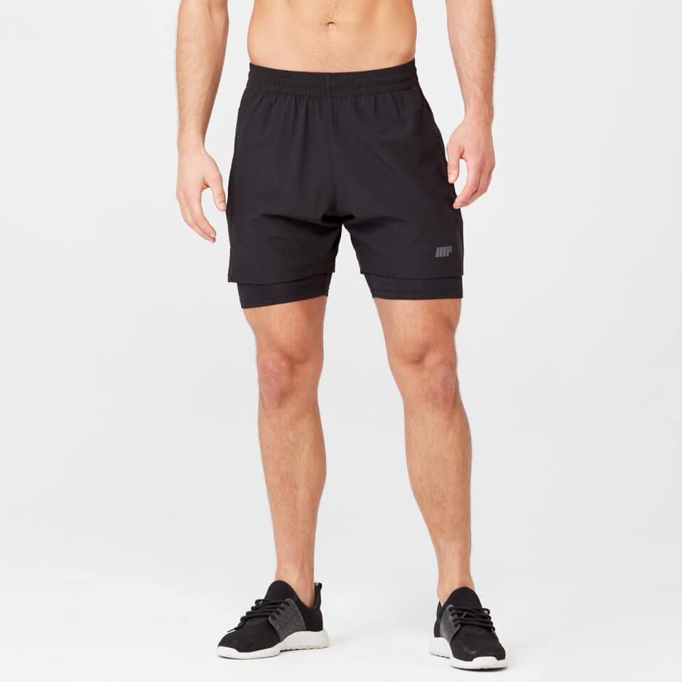 Power Shorts - Black - XXL