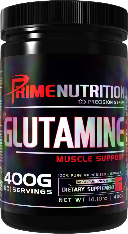 Prime Nutrition Glutamine - 80 Servings Unflavored