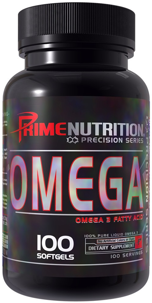 Prime Nutrition Omega - 100 Softgels