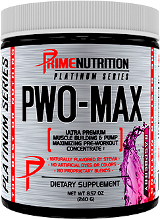 Prime Nutrition PWO-MAX - 30 Servings Raspberry