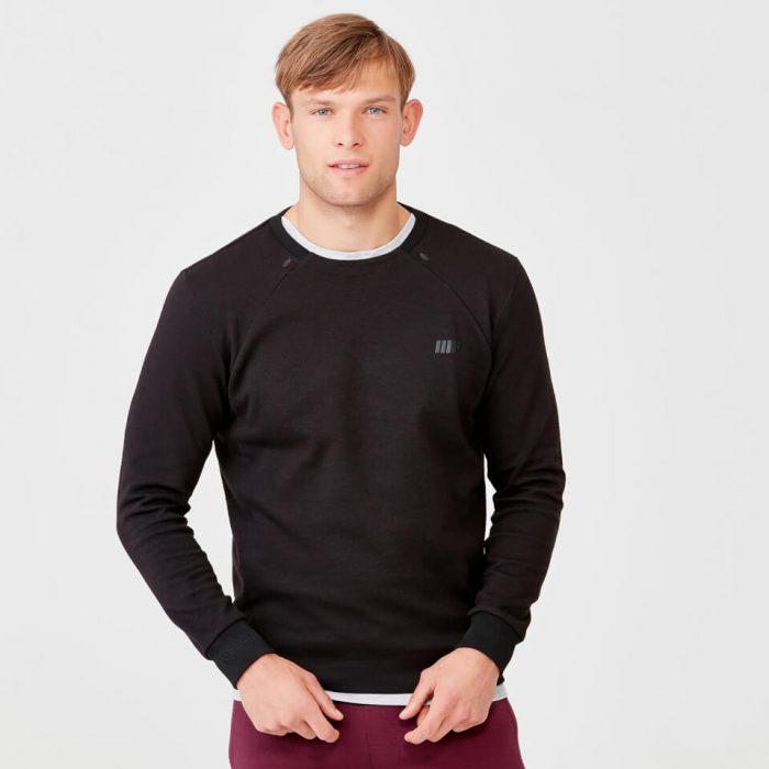 Pro Tech Crew Neck Sweatshirt 2.0 - Black - XXL