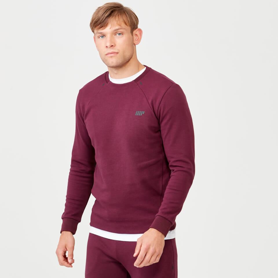 Pro Tech Crew Neck Sweatshirt 2.0 - Burgundy - L