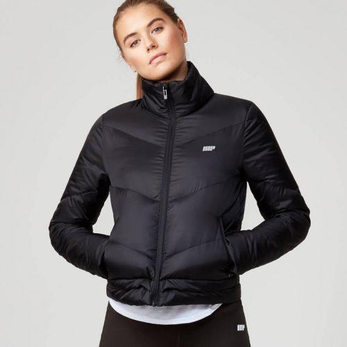 Pro Tech Heavy Weight Puffer Jacket - Black - S