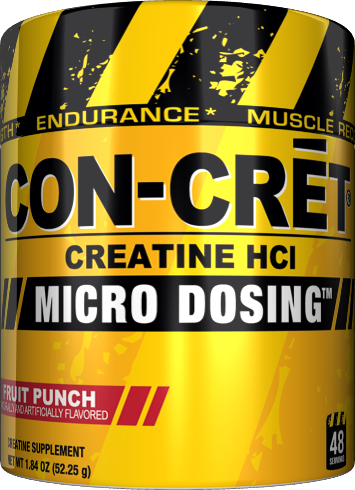 ProMera Con-Cret Powder - 48 Servings Fruit Punch