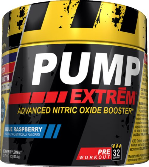ProMera Pump Extrem - 32 Servings Blue Raspberry