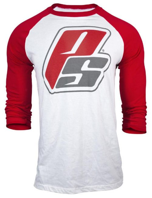 ProSupps Fitness Gear Baseball Tee - Red Large