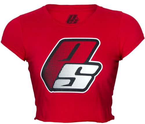 ProSupps Fitness Gear Crop Top - Red Small