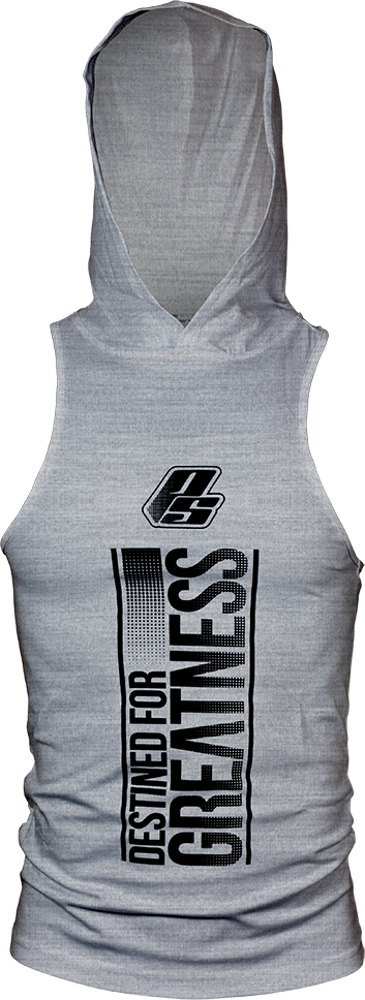 ProSupps Fitness Gear DFG Hoodie Tank - Heather Grey Large