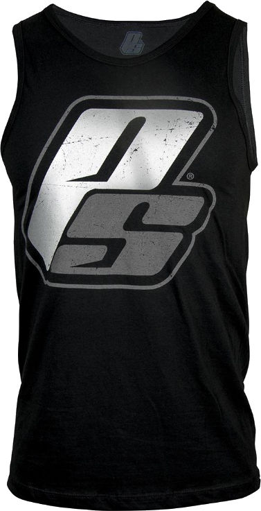 ProSupps Fitness Gear Gun Metal Tank - Black/Gunmetal Small
