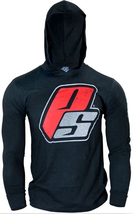 ProSupps Fitness Gear Hoodie Tee - Black Large