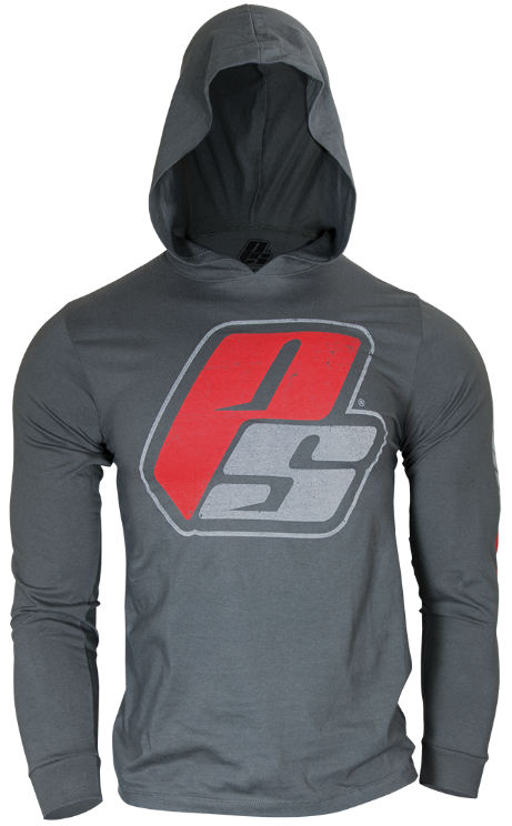 ProSupps Fitness Gear Hoodie Tee - Gunmetal Medium