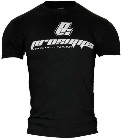 ProSupps Fitness Gear Military T-Shirt - Black Large