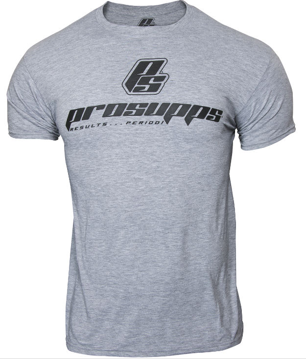 ProSupps Fitness Gear Military T-Shirt - Heather Grey Medium