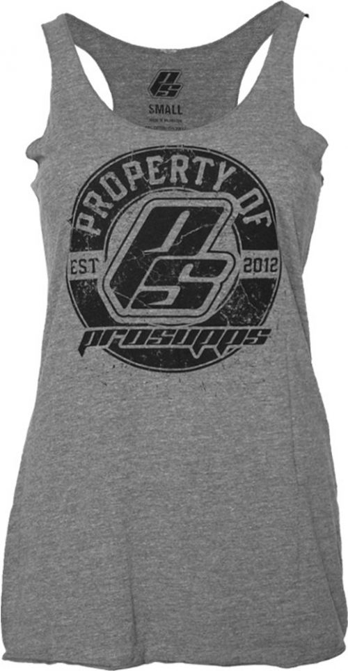 ProSupps Fitness Gear Vintage Racer Tank - Premium Heather Medium