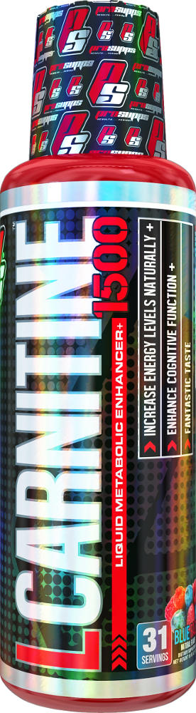 ProSupps L-Carnitine - 31 Servings (1500mg) Blue Razz