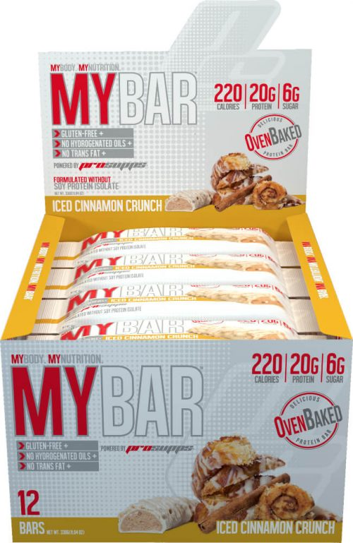 ProSupps MyBar - Box of 12 Iced Cinnamon Crunch