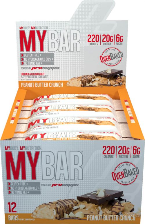 ProSupps MyBar - Box of 12 Peanut Butter Crunch