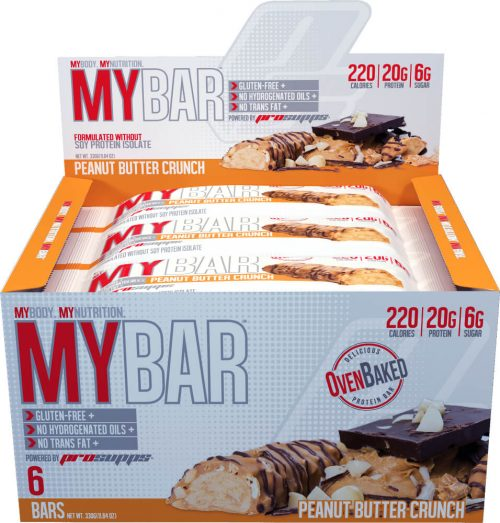 ProSupps MyBar - Box of 6 Ice Cream Cookie Crunch