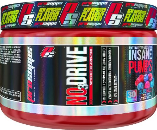 ProSupps NO3 Drive - 30 Servings Blue Razz