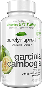 Purely Inspired Garcinia Cambogia+ - 100 Easy-to-Swallow Tablets