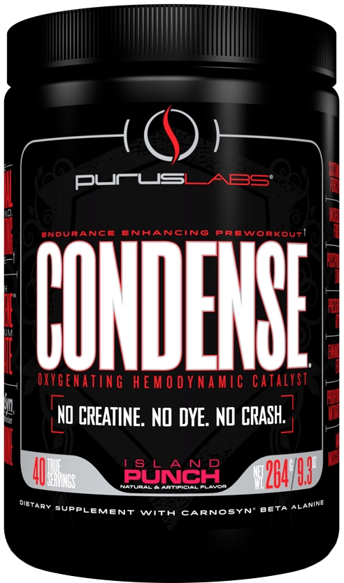 Purus Labs Condense - 40 Servings Island Punch