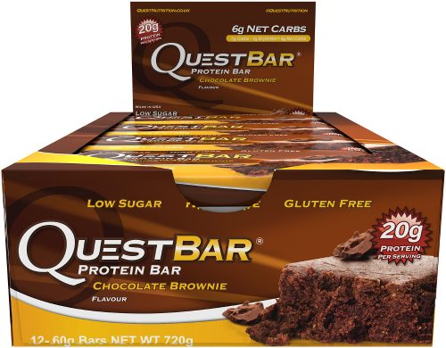 Quest Nutrition Quest Bar - Box of 12 Chocolate Brownie