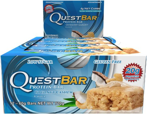 Quest Nutrition Quest Bar - Box of 12 Coconut Cashew