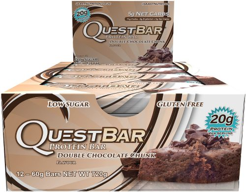Quest Nutrition Quest Bar - Box of 12 Double Chocolate Chunk