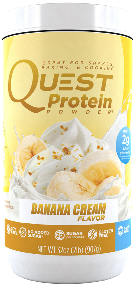 Quest Nutrition Quest Protein Powder - 2lb Banana Cream