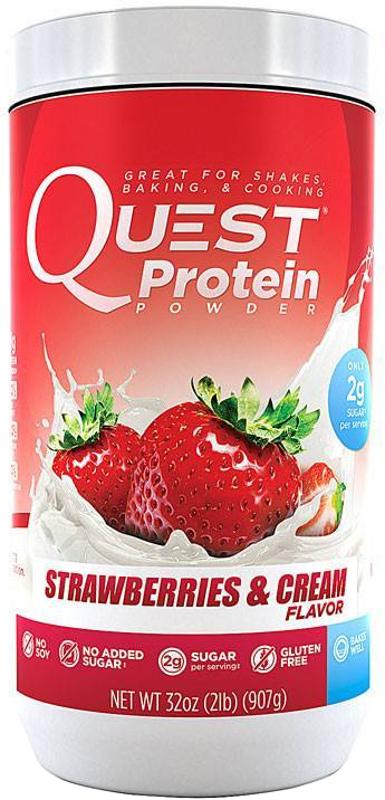 Quest Nutrition Quest Protein Powder - 2lb Strawberries & Cream