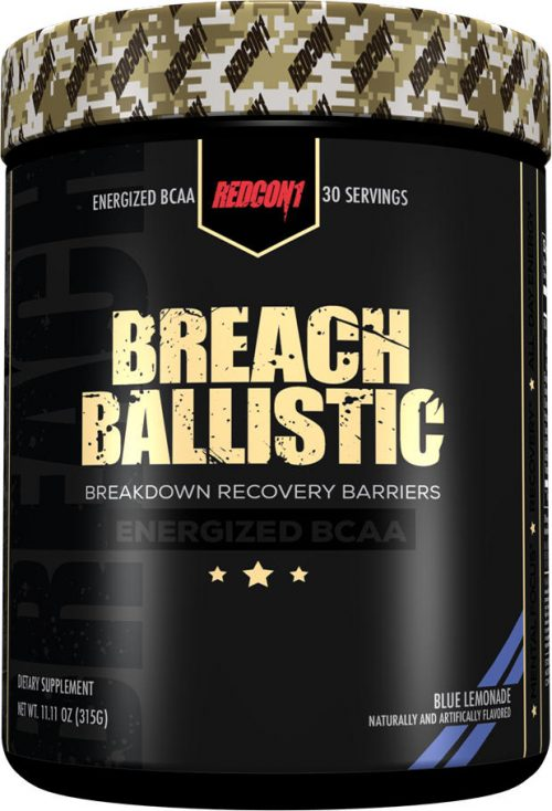 RedCon1 Breach Ballistic - 30 Servings Blue Lemonade
